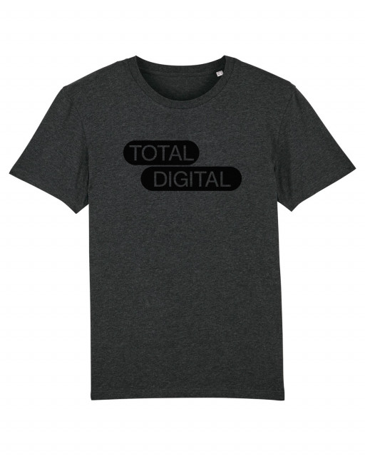A MAZE. Total Digital Shirt - Dark Heather Grey | A MAZE. Shop