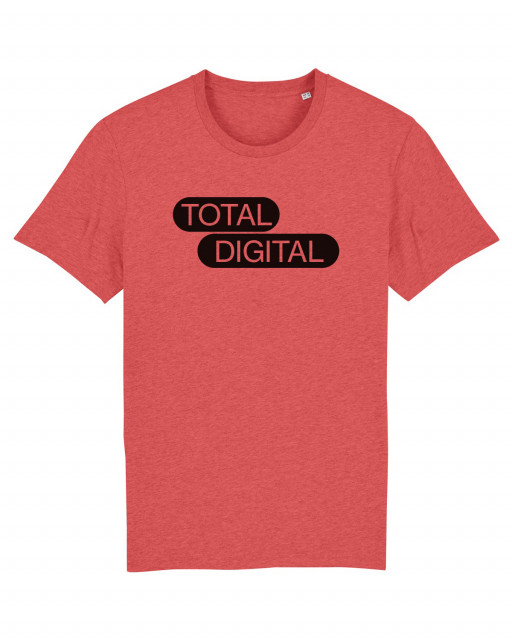 A MAZE. Total Digital Shirt - Mid Heather Red | A MAZE. Shop