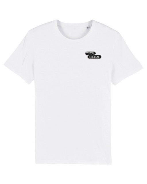A MAZE. Total Digital Bubble Stick T-Shirt - White | A MAZE. Shop